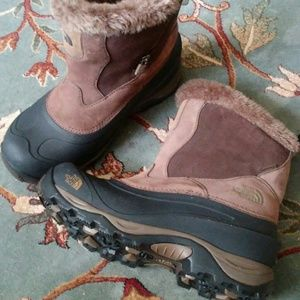 Thr North Face Winter Boots Size 8.5